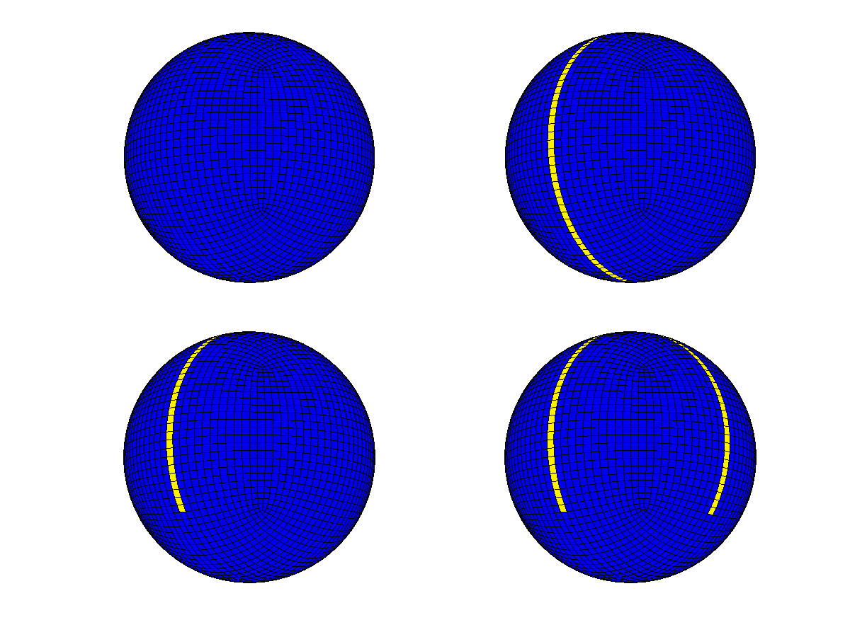 Figure 2. Configurations of the MITgcm Coupled Ocean-Atmosphere-Sea-Ice Cubed-Sphere Grid.
