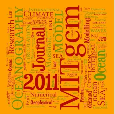 2011 MITgcm Research Roundup Word Cloud - Tagul.com