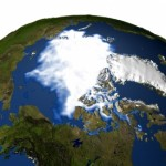 The extent of seasonal sea ice in the Arctic depends in part on regional winds and ocean currents, according to a new MIT study. Image: NASA GSFC Scientific Visualization Studio