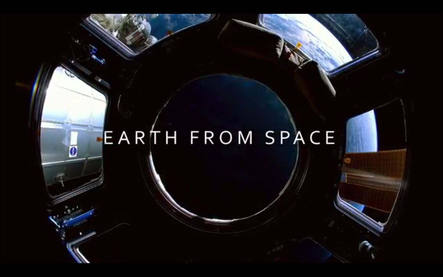 Earth from Space title credit