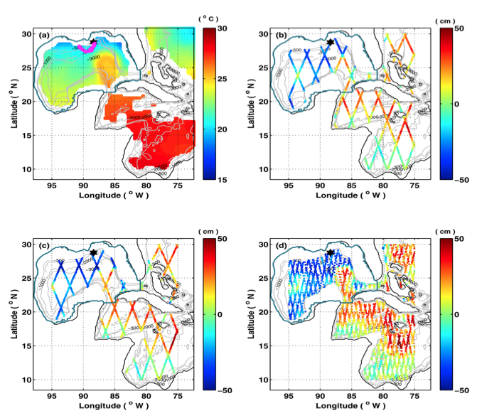 Assimilated SST and SSH observations (from Gopalakrishnan et al., 2013a)